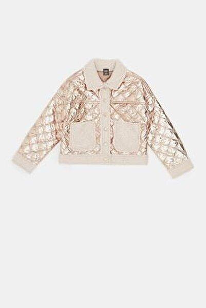 Kız Çocuk Bronz Ceket