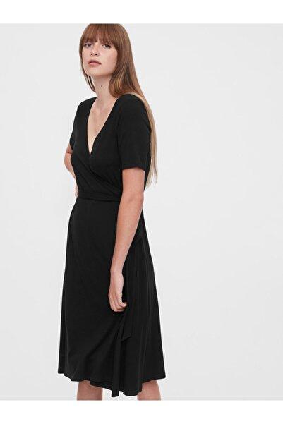 GAP V Yaka Midi Elbise
