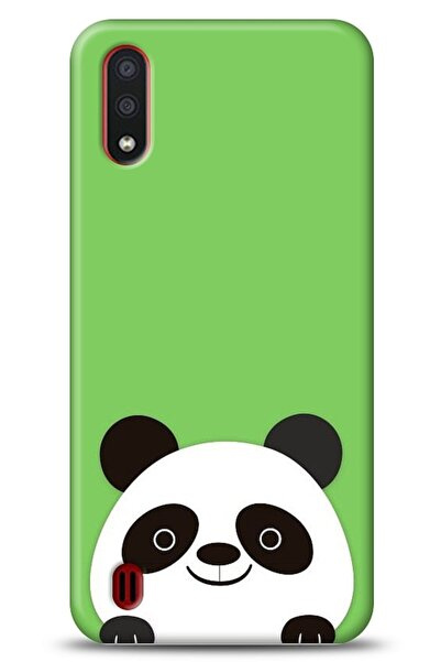 MobilCadde Samsung Galaxy A01 Uyumlu Panda Kılıf