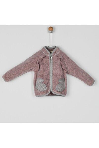 Panço Kız Bebek Pembe Örme Ceket 2021gb22002