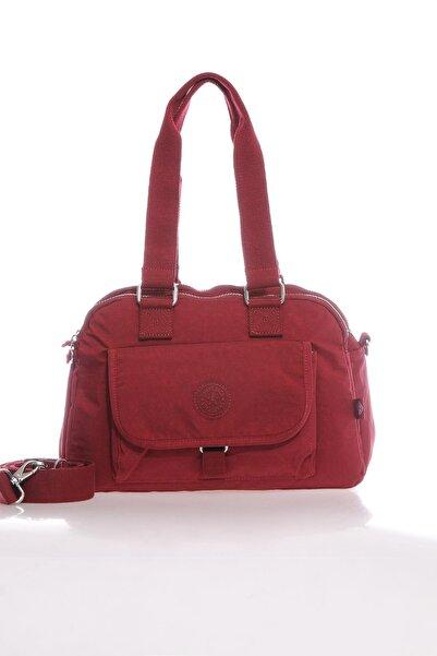 SMART BAGS Smb1122-0021 Bordo Kadın Omuz Çantası