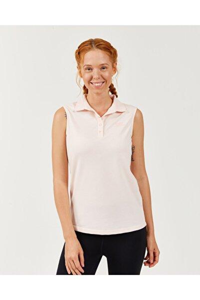 SKECHERS Polo's W Pique Sleevless Basic T-shirt Kadın Pearl Blush Tshirt S201146-609