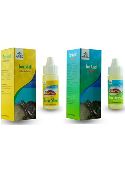 ARMATÜRK Aquaxi Tor Axsol Kaplumbağa Vitamini + Tor Shell Kaplumbağa Kabuk Sertleştirici