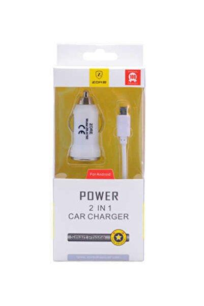 zore Micro Car Set Charger Z-16 Araç Şarj Seti
