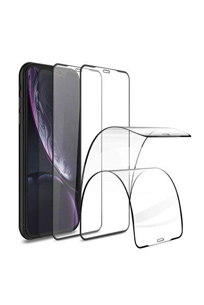 """casemarkt Apple Iphone 7 (4.7"""") Beyaz Esnek & Tam Kaplayan Seramik Ekran Koruyucu"""
