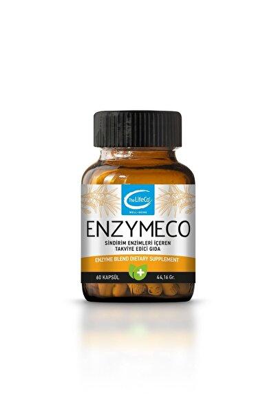 The LifeCo Enzymeco (enzim Karışımı) 60 Kapsül