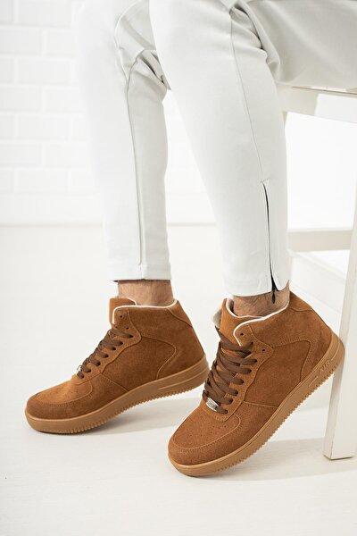 MUGGO Unısex Kahverengi Sneaker Ayakkabı