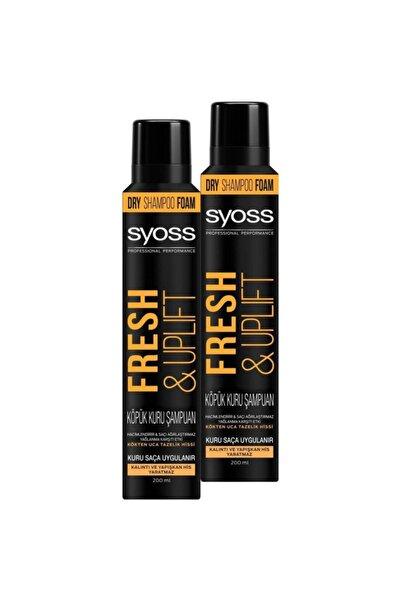 SCHWARZKOPF HAIR MASCARA Syoss Fresh & Uplıft Köpük Kuru Şampuan X 2 Adet