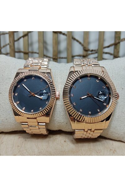 WatchArt Çift Sevgili Eşli Kol Saati Roleks Modeli Spectrum