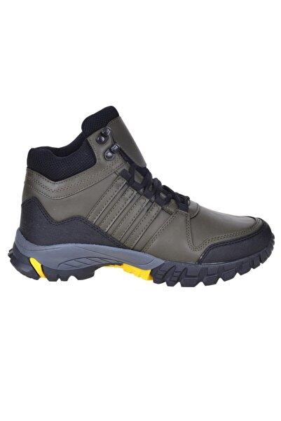 Bulldozer 210419 Haki Kışlık Erkek Trackıng Bot Ayakkabı