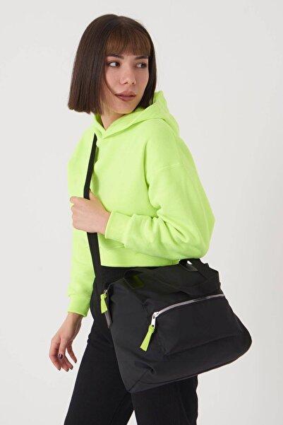 Addax Kadın Siyah Fermuar Detaylı Çanta Ç503 - F13 Adx-0000023674