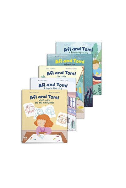 Martı Çocuk Yayınları Afi And Tomi - 5 Kitap Takım