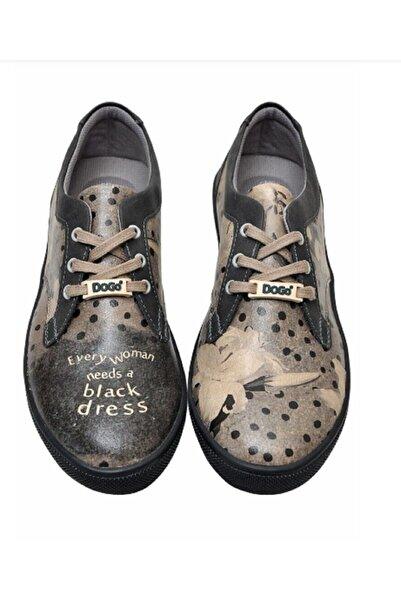 Dogo Kadın  Cord Black Dress Sneaker  Eu37