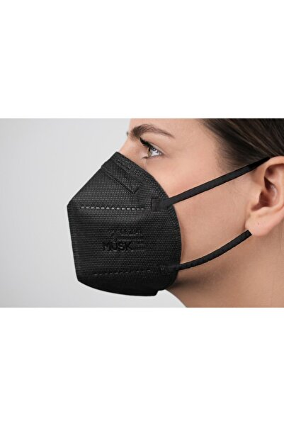 Musk N95 Maske Siyah 20 Adet
