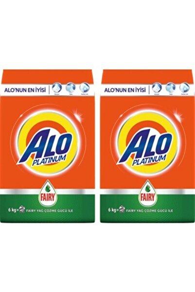 Alo Platinum Toz Çamaşır Deterjanı Fairy Etkili 6 Kg + 6 Kg Beyazlar Için