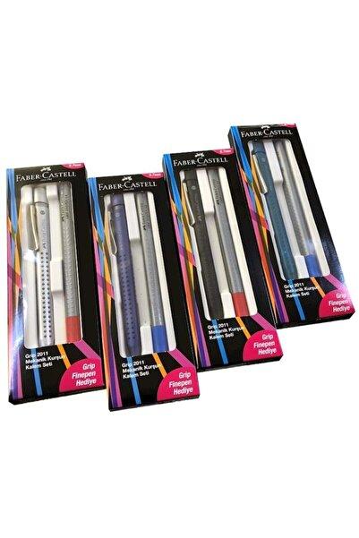Faber Castell Grip 2011 0,7 Fine Pen Versatil Seti