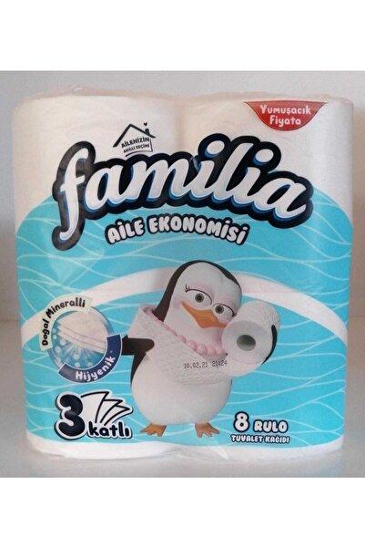 familia Shuev Aile Ekonomisi 3 Katlı Tuvalet Kağıdı 8'li Rulo