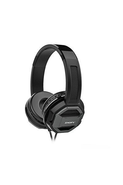 Snopy Sn-101 Bonny Gri Mikrofonlu Kulaklık