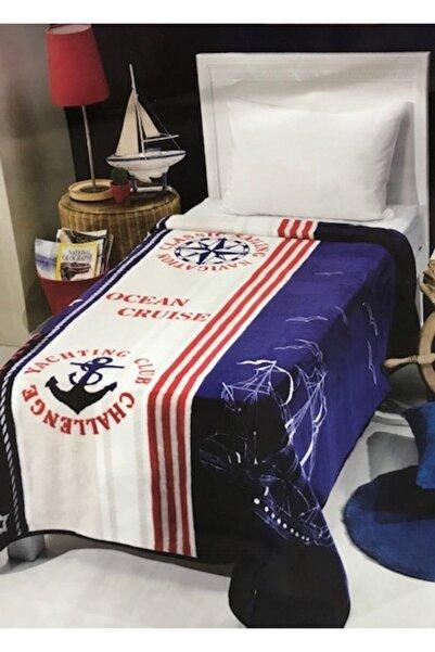 MİNK Tek Kişilik Genç/çocuk Battaniyesi 160x220 Marine