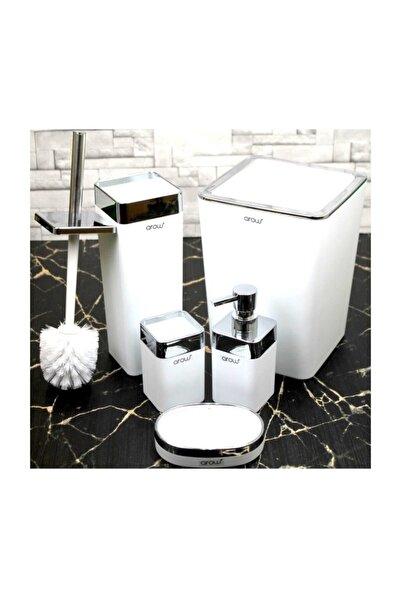 AROW Akrilik Banyo Seti Banyo Takımı 5 Parça/beyaz