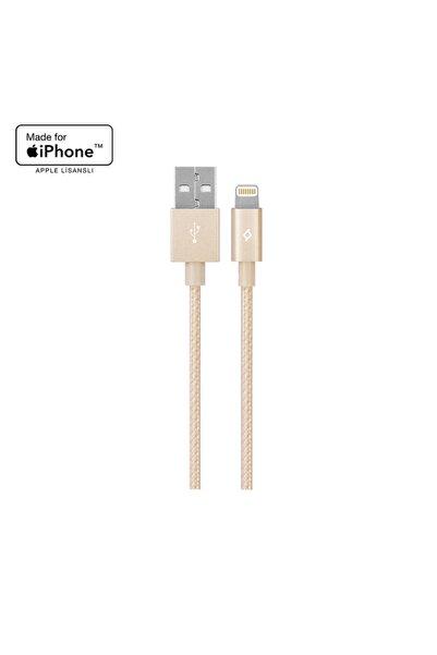 Ttec AlumiCable Apple Lisanslı iPhone Şarj Kablosu Altın 2DKM02A