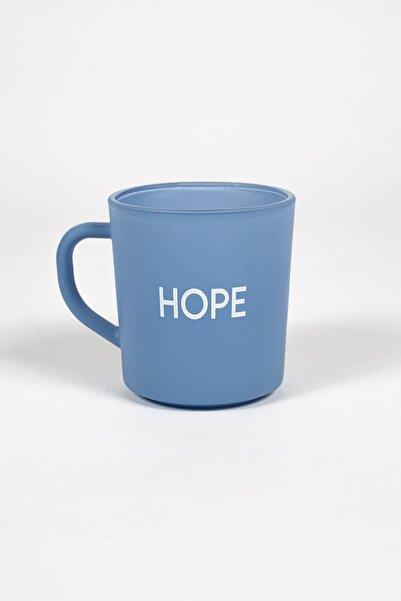 Rakle Mavi Motto Hope Kupa Bardak