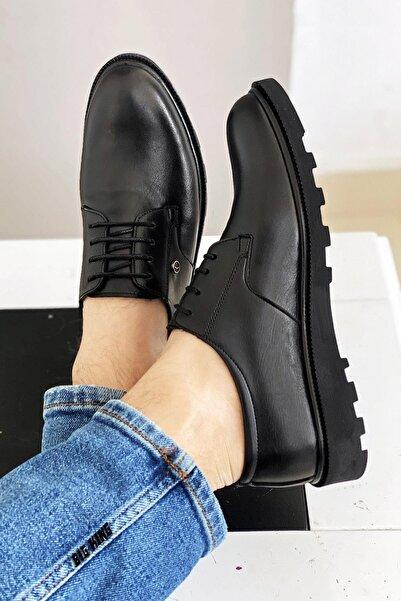 BIG KING Siyah Erkek Klasik Ayakkabı