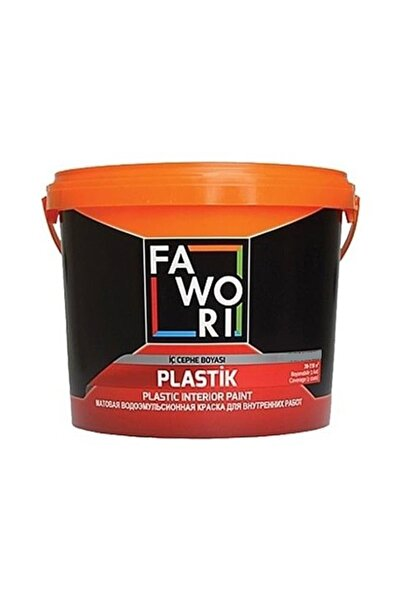 Fawori Plastik Iç Cephe Duvar Boyası 10 Kg Buzul Gri