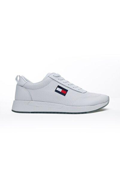 Tommy Hilfiger Tommy Jeans Flexi Erkek Beyaz Spor Ayakkabı