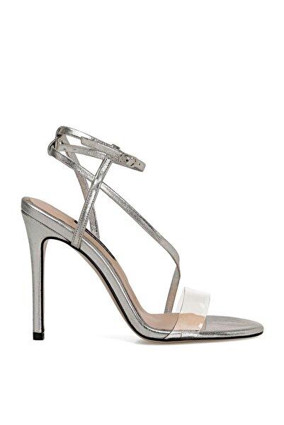 Nine West TIMMY Gümüş Kadın Topuklu Sandalet 100526670