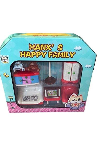 matchbang Manx's Happy Family'den Muhteşem 3'lü Set. Salon, Banyo, Genç Oda