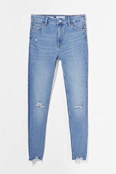 Bershka Low Waist Push Up Jean