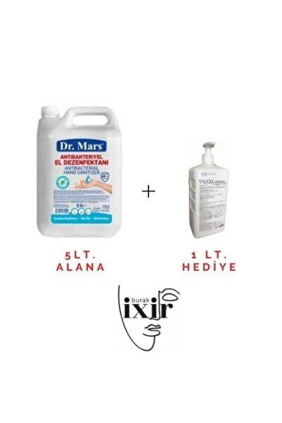 Unisex Alkol Bazlı Sıvı El Dezenfektanı 5lt. (alana) + Sıvı El Ve Cilt Temizleme Dezenfektanı 1lt. (hediye)