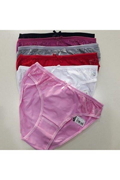 Tutku Kadın Bikini Külot 6 Lı Paket Karışık Renk