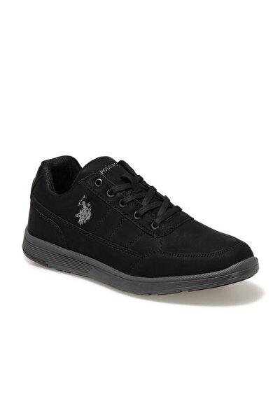 U.S. Polo Assn. Erkek Siyah Lıon Ayakkabı
