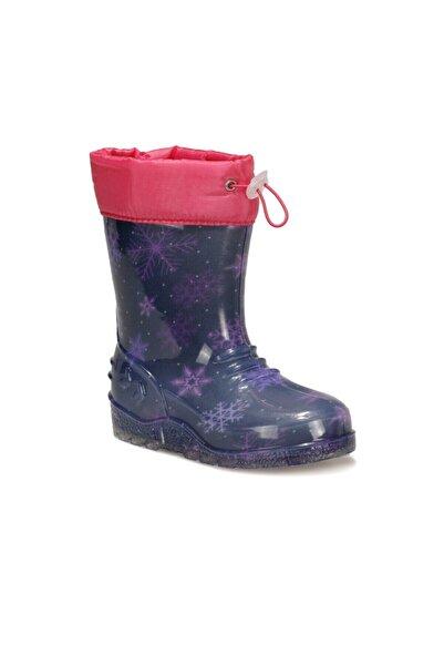 SEVENTEEN Kız Çocuk Mor Yağmur Çizmesi