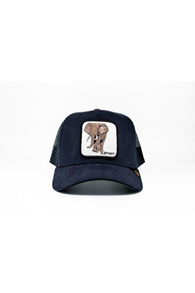 Goorin Bros Unisex Lacivert Elephant Standart Şapka