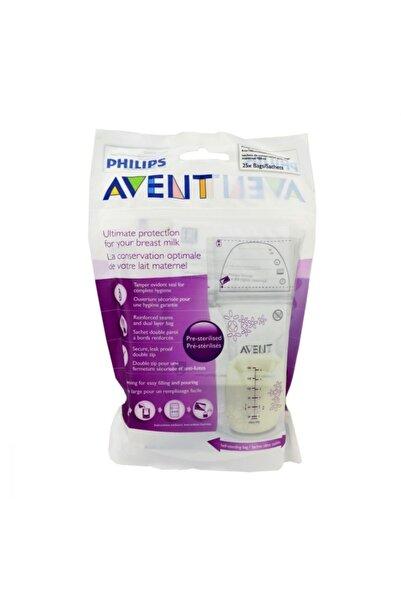 Philips Avent Anne Sütü Saklama Poşeti 180 ml 25 Adet