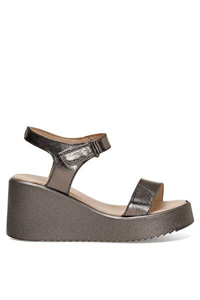 Nine West KALAN Gümüş Kadın Dolgu Topuklu Sandalet 100526101