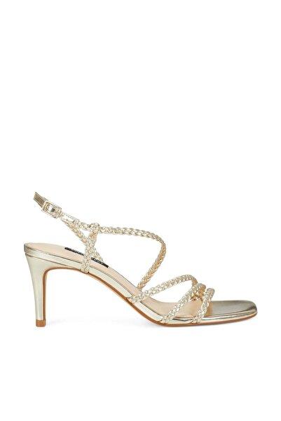 Nine West Kadın Altın Topuklu Ayakkabı