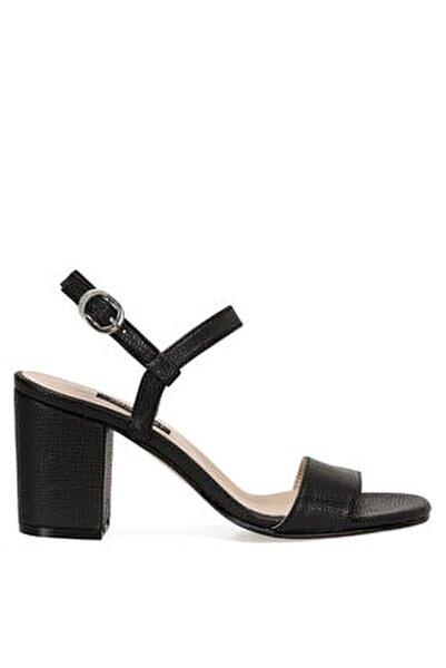 Ceva Siyah Kadın Sandalet