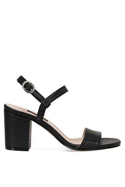 Nine West Ceva Siyah Kadın Sandalet