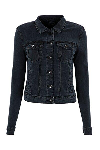 Vero Moda Kadın Koyu Gri Ceket 10193085