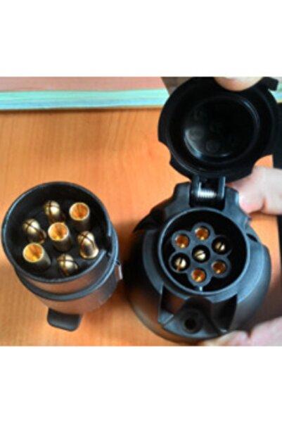 Aksa N Tipi 7li Plastik Traktör Römork Priz Ve Fiş Takımı Vidalı Tekne