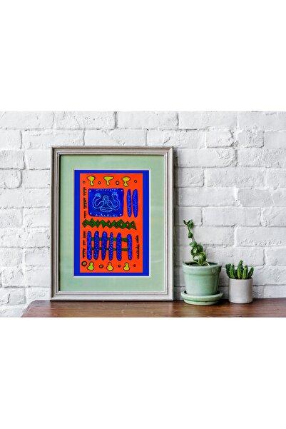 Nagihan Aydınlık Abstract No1, 24x36, Karışık Teknik