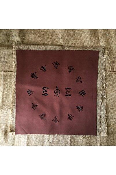 Nagihan Aydınlık Şaman, 45x45, Kumaş Üzerine Linol Baskı