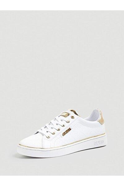 Guess Beckıe Kadın Sneaker Beyaz