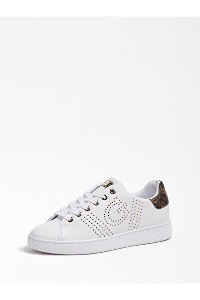 Guess Ranvo Kadın Beyaz Sneaker