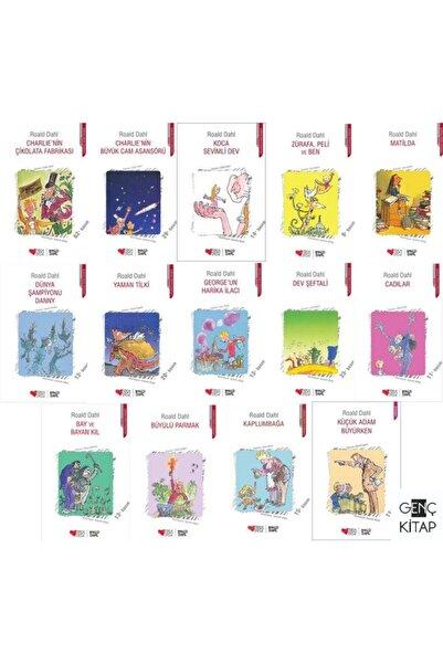 Can Çocuk Yayınları Roald Dahl 14 Kitap Set Can Yayınları Charlıenin Çikolata Fabrikası-koca Sevimli Dev-matilda