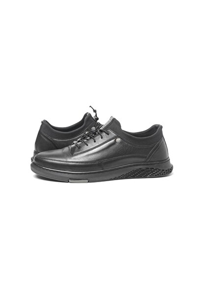 Pierre Cardin Erkek Siyah Hakiki Deri Casual Ayakkabı 62107